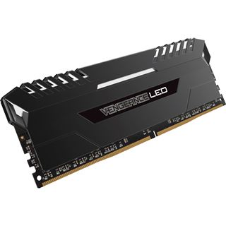 64GB Corsair Vengeance LED weiß DDR4-3000 DIMM CL15 Quad Kit
