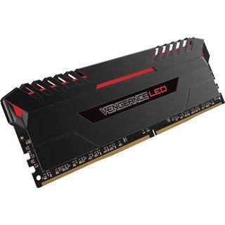 32GB Corsair Vengeance LED rot DDR4-3000 DIMM CL15 Quad Kit