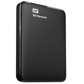 2000GB WD Elements Portable Exclusive Edition WDBHDW0020BBK-EESN