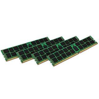 128GB Kingston ValueRAM Intel DDR4-2400 regECC DIMM CL17 Quad Kit
