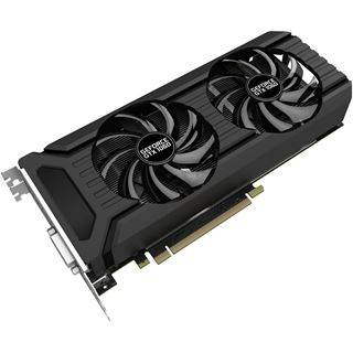 6GB Palit GeForce GTX 1060 DUAL Aktiv PCIe 3.0 x16 (Retail)