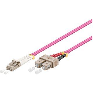 30.00m Good Connections LWL Duplex Patchkabel 50/125 µm OM4 LC
