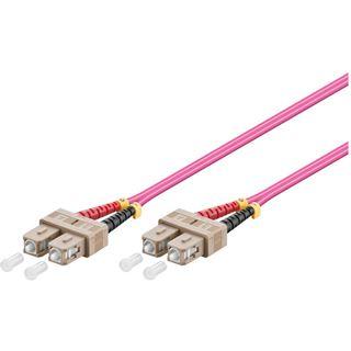 (€0,96*/1m) 30.00m Good Connections LWL Duplex Patchkabel 50/125