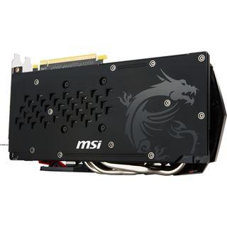 8GB MSI Radeon RX 480 Gaming X Aktiv PCIe 3.0 x16 (Retail)