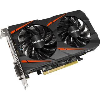 4GB Gigabyte Radeon RX 460 Windforce OC Aktiv PCIe 3.0 x16 (x8)