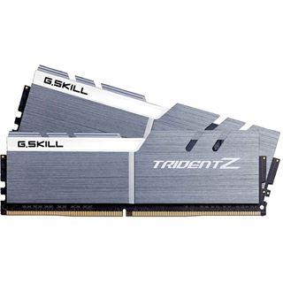 16GB G.Skill Trident Z silber/weiß DDR4-3466 DIMM CL16 Dual Kit
