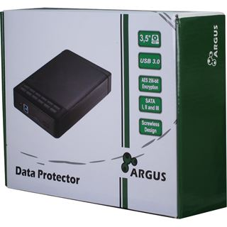 "Inter-Tech Argus GD-35LK01 AES 3.5"" (8,89cm) USB 3.0 schwarz"