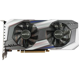 6GB KFA2 GeForce GTX 1060 OC Aktiv PCIe 3.0 x16 (Retail)