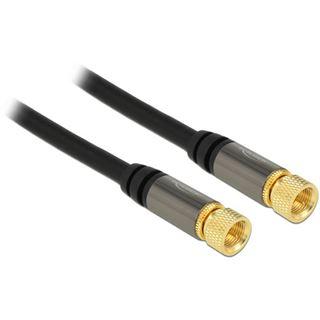 (€1,98*/1m) 5.00m Delock Antennenkabel F Stecker auf F Stecker