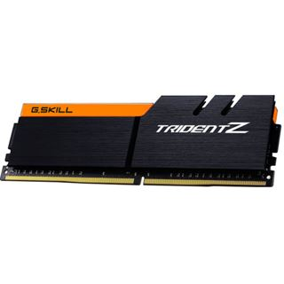 32GB G.Skill Trident Z schwarz/orange DDR4-3200 DIMM CL16 Dual Kit