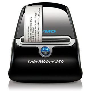 Dymo LabelWriter 450 Etikettendrucker +drei Etiketten Rollen