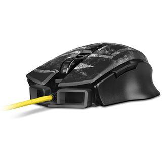 Sharkoon Shark Zone M50 USB schwarz mit Muster (kabelgebunden)