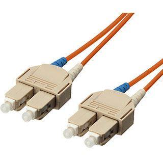 (€6,90*/1m) 1.00m Equip LWL Duplex Patchkabel SC Stecker auf SC