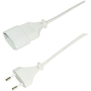 (€2,45*/1m) 2.00m LogiLink Stromadapterkabel CEE Stecker auf CEE