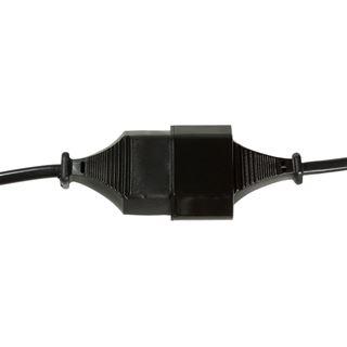 (€4,90*/1m) 1.00m LogiLink Stromadapterkabel CEE Stecker auf CEE