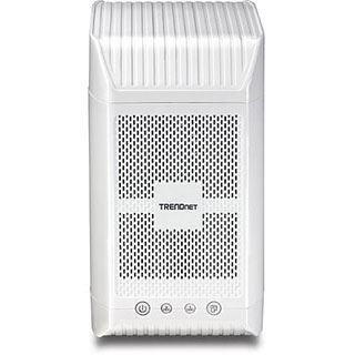 TrendNet NAS 2-Schächte Media Server DLNA Gbit bis zu 8 TB