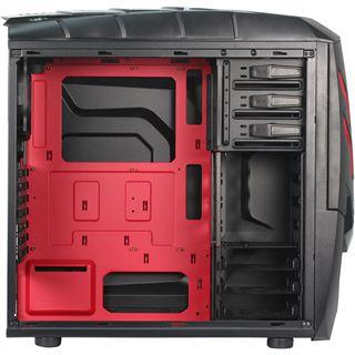 Raidmax Viper GX mit Sichtfenster Midi Tower ohne Netzteil schwarz/rot