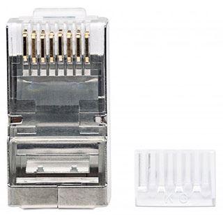 Intellinet Modularstecker für Litzen oder Massivdraht RJ45, Cat6 ...
