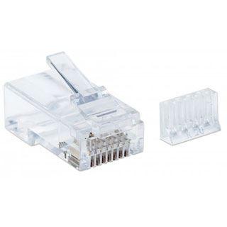 Intellinet Modularstecker RJ45 Cat6, UTP,3-Punkt, 90 STk.