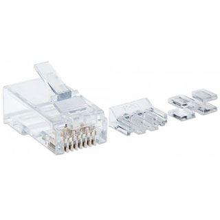 Intellinet Modularstecker , RJ45, Cat6A,UTP, 2-Punkt, 80 Stk.