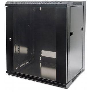 Intellinet Wandverteiler 6HE 540x450mm Schwenkrahmen schwarz