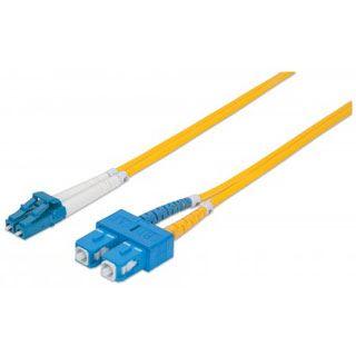 (€4,45*/1m) 2.00m Intellinet LWL Duplex LWL Anschlusskabel 9/125