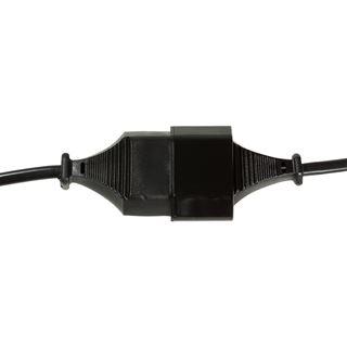 (€2,45*/1m) 2.00m LogiLink Stromadapterkabel Euro Stecker auf