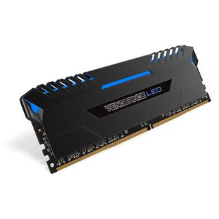 16GB Corsair Vengeance LED blau DDR4-3200 DIMM CL16 Dual Kit