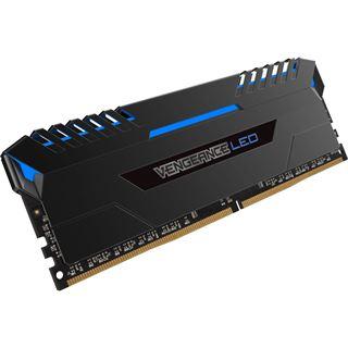 16GB Corsair Vengeance LED blau DDR4-3000 DIMM CL15 Dual Kit