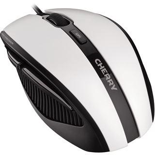 CHERRY MC 3000 USB schwarz/weiß (kabelgebunden)