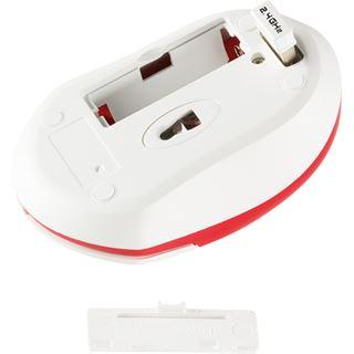 LogiLink ID0129 USB weiß/rot (kabellos)
