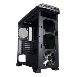 Antec GX330 mit Sichtfenster Midi Tower ohne Netzteil schwarz