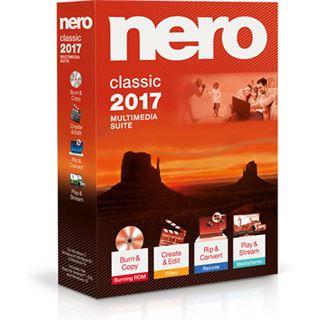 Nero Nero 2017 Classic 32 Bit Deutsch Brennprogramm Vollversion PC