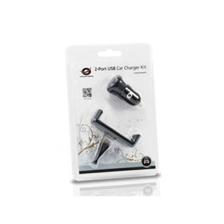 2-Port-USB-Kfz-Ladegeräteset