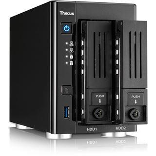 Thecus N2810PRO 2BAY 1,6GHZQC 4GB DDR