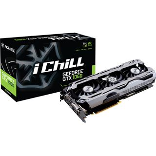 6GB Inno3D GeForce GTX 1060 iChill Black Edition Aktiv PCIe 3.0 x16