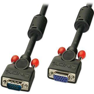 (€4,97*/1m) 3.00m Lindy VGA Anschlusskabel VGA 15pol Stecker auf