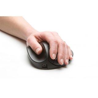 BakkerElkhuizen Handshoemouse BNEP190LW USB schwarz (kabellos)