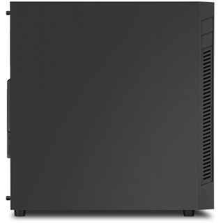 Sharkoon S25-V Midi Tower ohne Netzteil schwarz