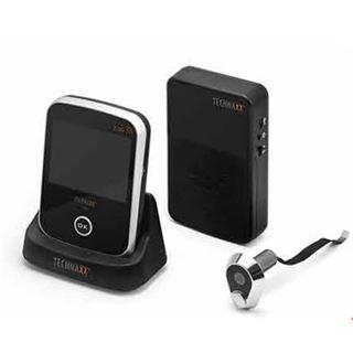 technaxx kabelloser t rspion mit kamera tx 75 zubeh r f r sicherheit. Black Bedroom Furniture Sets. Home Design Ideas