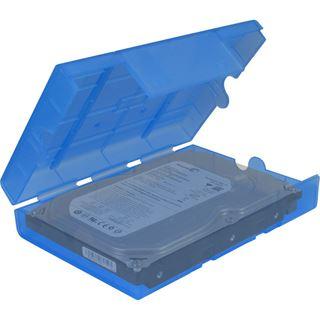 """Inter-Tech AC Schutz-Box 1x 3,5"""" oder 4x 2,5"""" Kunststoff"""