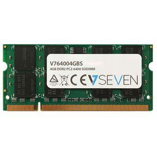4GB V7 V764004GBS DDR2-800 SO-DIMM CL6 Single