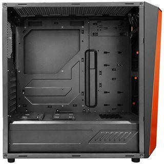 Raidmax Delta mit Sichtfenster Midi Tower ohne Netzteil schwarz/orange