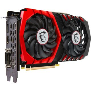 4GB MSI GeForce GTX 1050 Ti GAMING X 4G Aktiv PCIe 3.0 x16 (Retail)