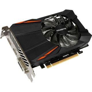 2GB Gigabyte GeForce GTX 1050 D5 2G Aktiv PCIe 3.0 x16 (Retail)