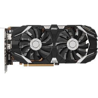 6GB MSI GeForce GTX 1060 6GT OC Aktiv PCIe 3.0 x16 (Retail)