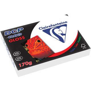 Clairefontaine Laserdrucker-Papier DCP Coated Gloss, A4, 170 g/qm