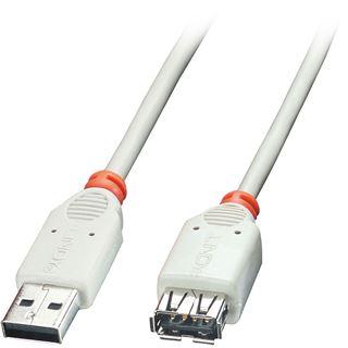 (€4,90*/1m) 1.00m Lindy USB2.0 Verlängerungskabel USB A