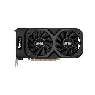 4GB Palit GeForce GTX 1050 Ti Dual OC Aktiv PCIe 3.0 x16 (Retail)