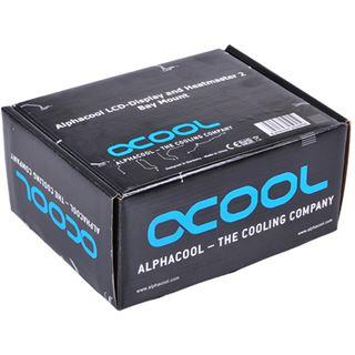 Alphacool LCD-Display und Heatmaster 2 - Halterung